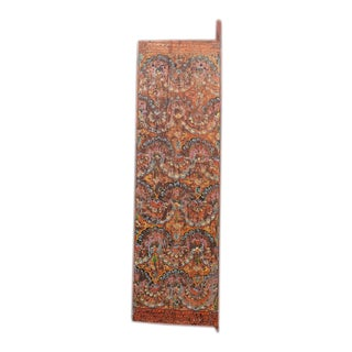 Antique Darchen Orange Tibetan Door For Sale