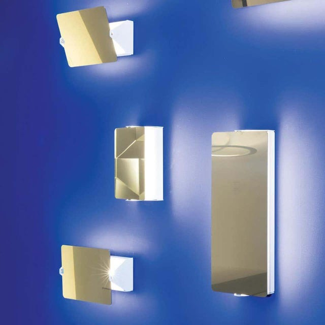 Mid-Century Modern Charlotte Perriand Mirrored 'Applique á Volet Pivotant' Wall Lights For Sale - Image 3 of 7