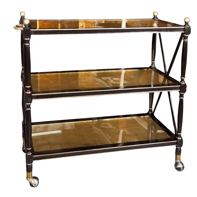 Maison Jansen Three-Tier Serving Cart - Image 1 of 8