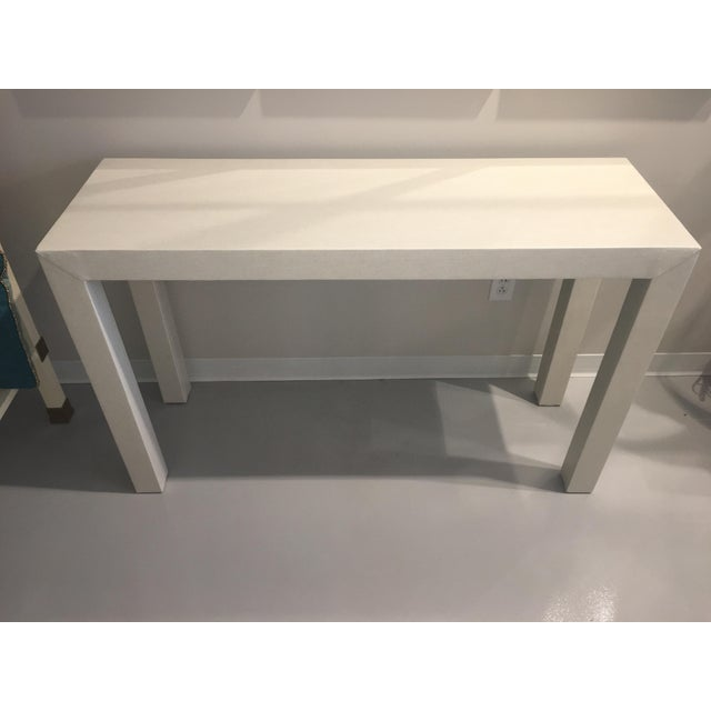 Upholstered Celine Parsons Table - Image 8 of 9