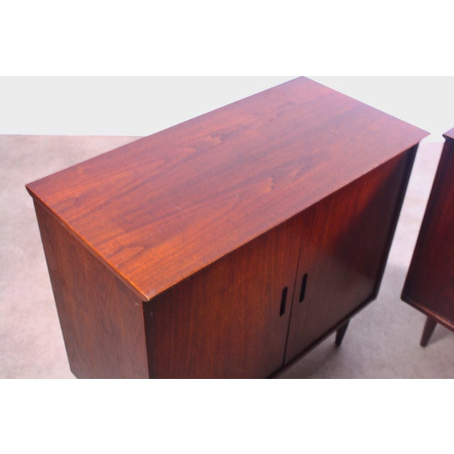 1960s Intense Matching Pair of Arne Vodder Cabinets For Sale - Image 5 of 12