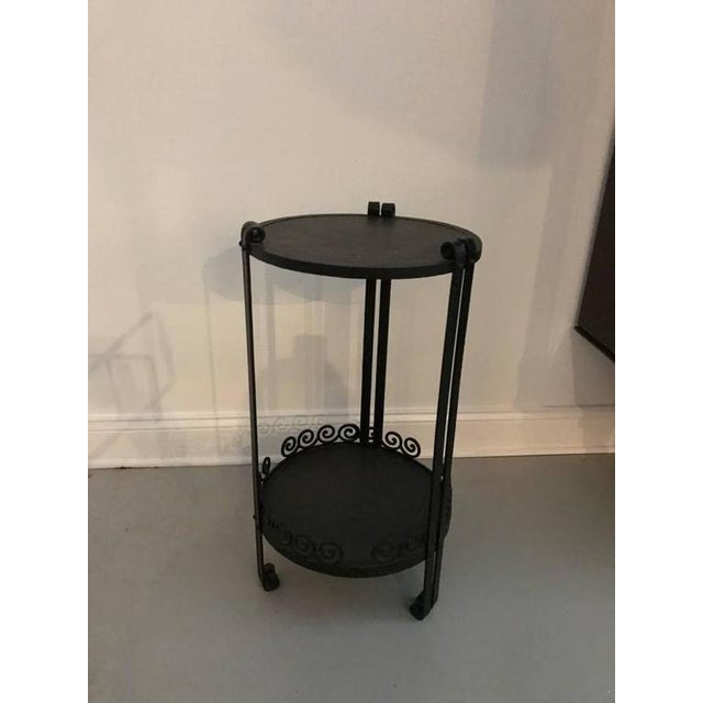 French Art Deco Side Table or Small Accent Table - Image 2 of 7