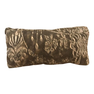 Traditional Custom Fortuny Pillow For Sale
