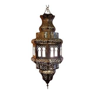 Old Fez Moroccan Copper Lantern