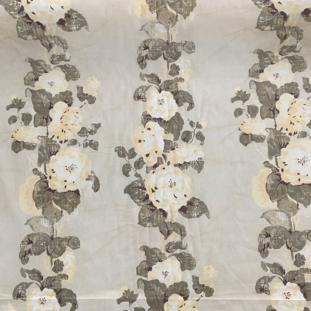 Rose Tarlow Bloomsbury in Saffron Fabric Roll 19 Yards For Sale In Orlando - Image 6 of 7