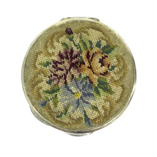 Embroidered Austrian Compact For Sale