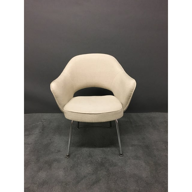 Saarinen for Knoll Executive Armchairs - Set of 6 - Image 4 of 6