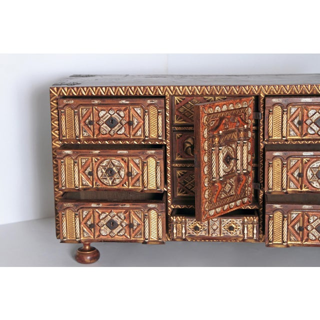 Spanish Bargueno / Portable Desk Cabinet For Sale - Image 9 of 13