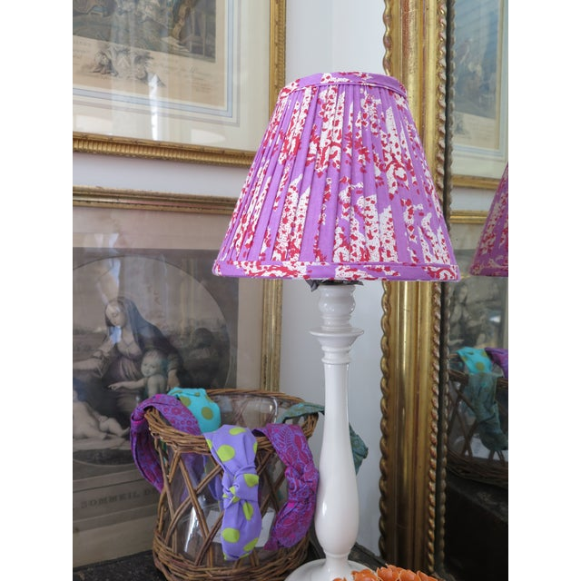 Custom Maison Maison gathered empire lampshade in Maison Maison Textiles. We can also make any custom lampshade of any...