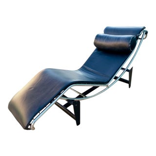 1980s Vintage Le Corbusier Lc4 Lounge Chair for Cassina For Sale