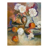 Image of Vintage Still Life Painting For Sale