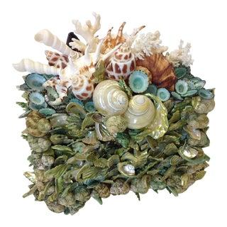 Seagreen Treasure Box, Original, Signed by Artist For Sale
