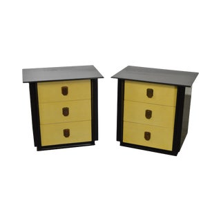 """Kent Coffey """"The Park Avenue"""" Nightstands Chests - A Pair For Sale"""