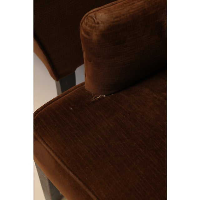 1950s Mid-Century Modern Arm Chairs - A Pair For Sale - Image 5 of 8