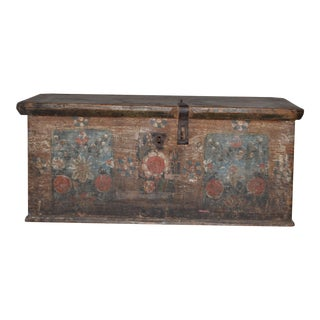 1900's Antique European Small Chest For Sale