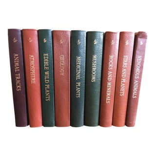 1994 Collector's Edition, Roger Tory Peterson Field Guides Books - Set of 9 For Sale
