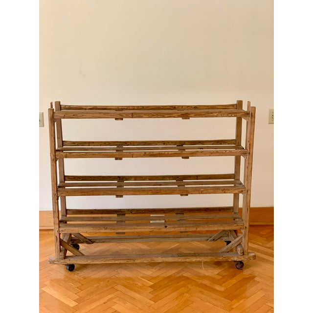Brown Late 19th Century English Shoe Drying Rack For Sale - Image 8 of 8