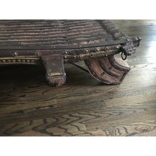 Antique Bullock Cart Coffee Table Preview
