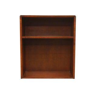 "20th Century Traditional Kimball International Office Workstation 35"" Bookcase For Sale"