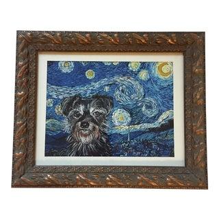 Judy Henn Starry Night Terrier Print