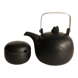 Black Swan Lake Concept Hornsea Teapot and Sugar Bowl For Sale