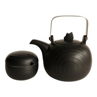 Black Swan Lake Concept Hornsea Teapot and Sugar Bowl