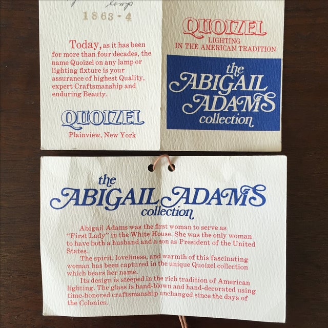 Abigail Adams Electric Lamps - A Pair - Image 8 of 8