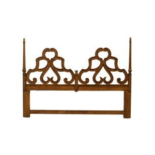 Mediterranean Davis Cabinet Co. King Size Headboard For Sale
