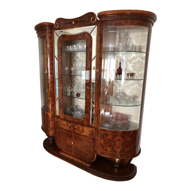 Imported Italian China Cabinet For Sale