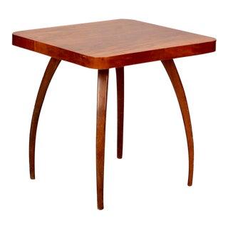 Jindrich Halabala Square Side Table For Sale