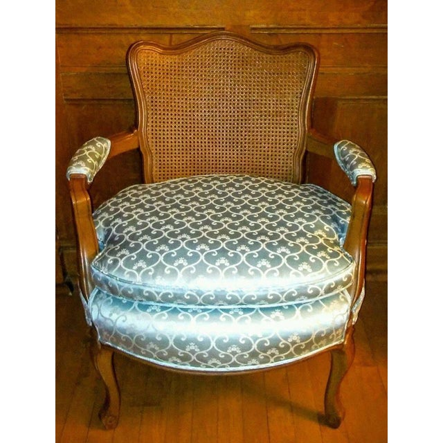 Vintage French Provincial Caned Back Chair - Image 2 of 5