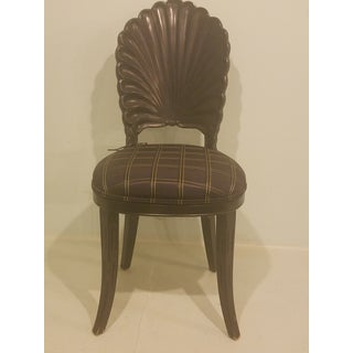 1920s Antique Art Deco Seashell Chair Preview