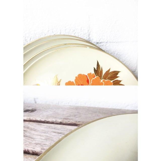 Vintage Otagiri Floral Plates- Set of 4 - Image 4 of 6
