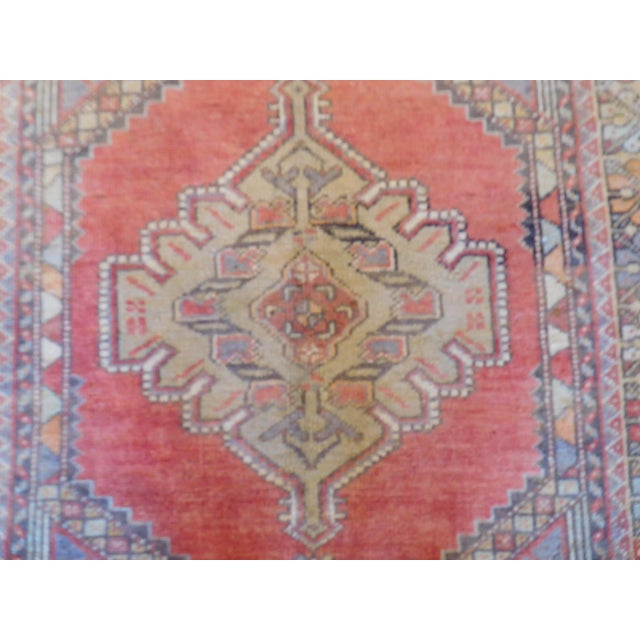 "Vintage Turkish Oushak Rug - 3'9"" X 5'6"" - Image 2 of 5"