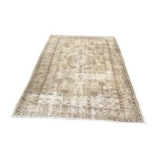 "Vintage Handmade Anatolian Carpet - 5'5"" x 8'6"""