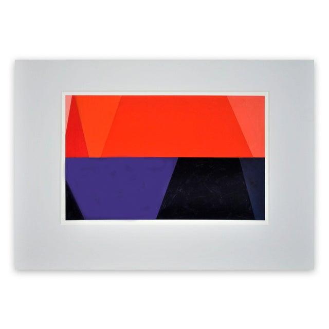 "Macyn Bolt Macyn Bolt ""Oq 19"" Painting For Sale - Image 4 of 4"
