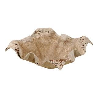 Mid Century Willy Guhl Handkerchief Sculptural Planter For Sale
