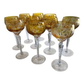 Nachtmann Crystal Handcut Glasses - Set of 10