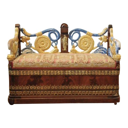 Early 19th c. Russian Settee For Sale