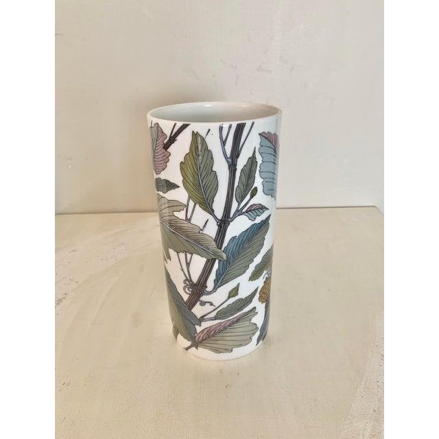Rosenthal Rosenthal Germany Studio Line Large Gilt Botanical Vase For Sale - Image 4 of 10