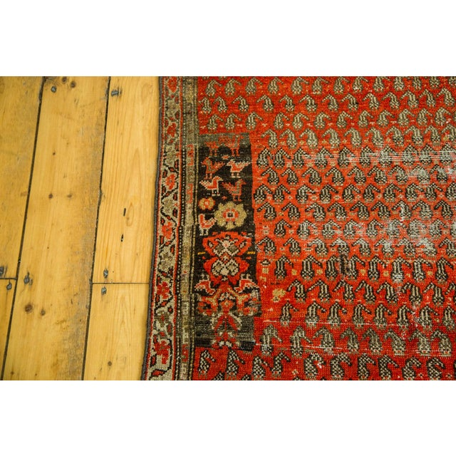 "Antique Persian Malayer Rug - 3'6"" x 5'6"" - Image 4 of 5"