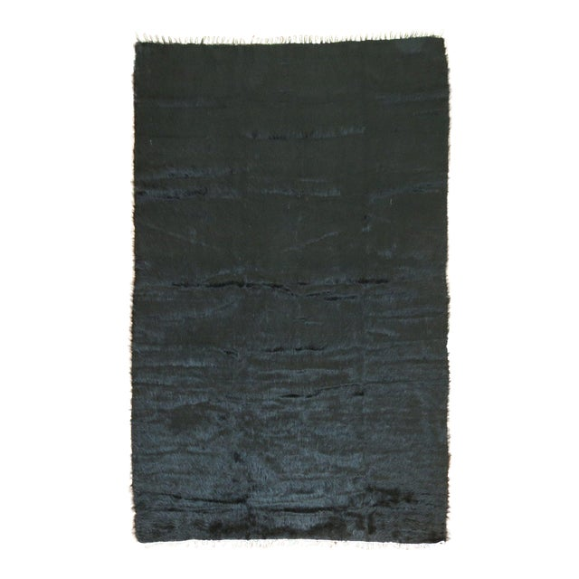 Vintage Mohair Rug - 4'7'' x 6'9'' - Image 1 of 9