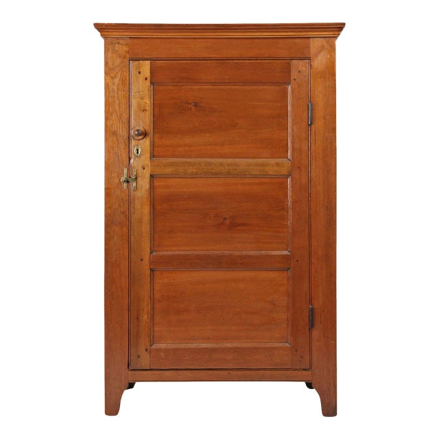 1830 Antique American Yellow Pine Jelly Cupboard - 1830 Antique American Yellow Pine Jelly Cupboard Chairish