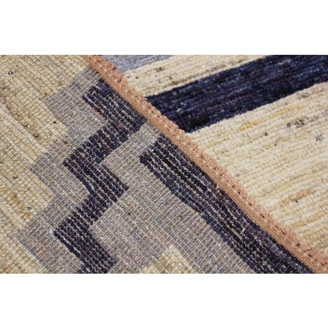 2020s Handmade Navajo Design Rug For Sale - Image 5 of 10
