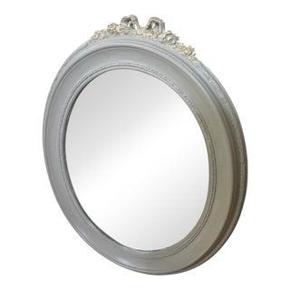 Antique Victorian Oval Mirror