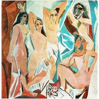 """1971 Picasso """"Les Demoiselles d'Avignon"""" Parisian Photogravure For Sale"""