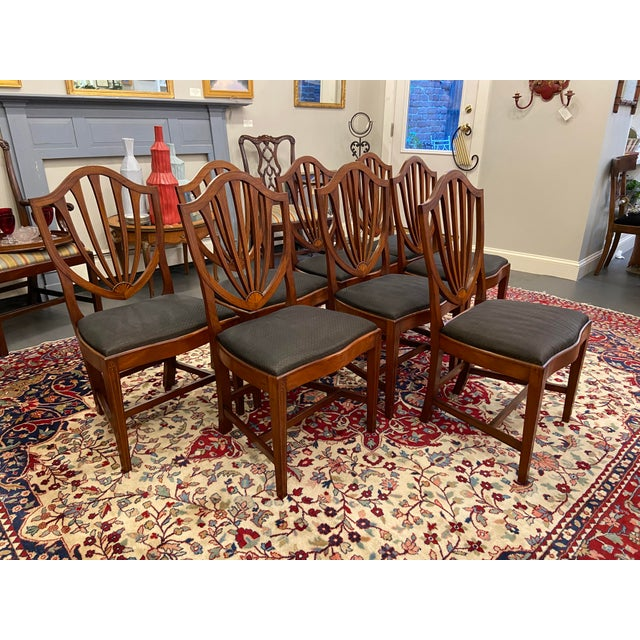 1920s Early 20th Century Irving & Casson Dining Chairs - Set of 8 For Sale - Image 5 of 13
