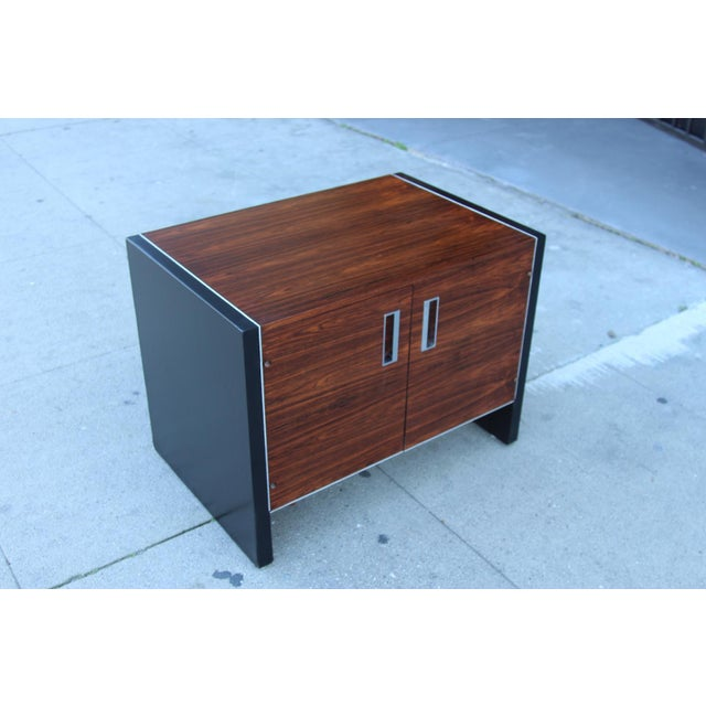 Robert Baron Glenn of California Rosewood Nightstand - Image 8 of 9