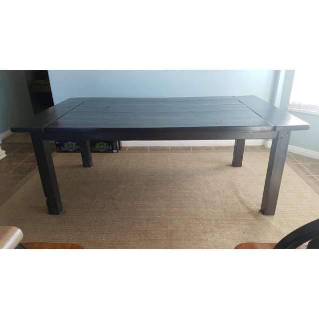 Farmhouse Pine Dining Table - Image 2 of 6