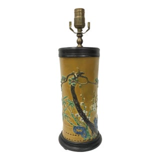Chinese 19th Century Antique Hat Stand Lamp For Sale